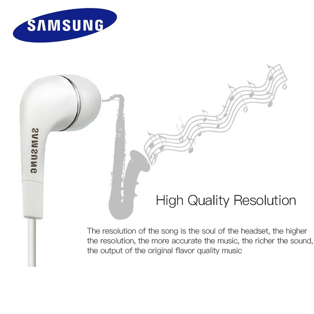 Samsung EHS64 Earphone Wired 3.5mm In-ear with Microphone Wired Controller Support Android for Xiaomi Huawei 1