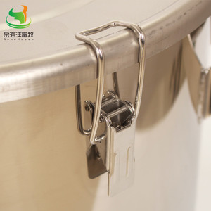 Image 2 - 170L Straight Barrel  with Cover, Milk Can ,Stainless Steel Milk Bucket, Liquild Container