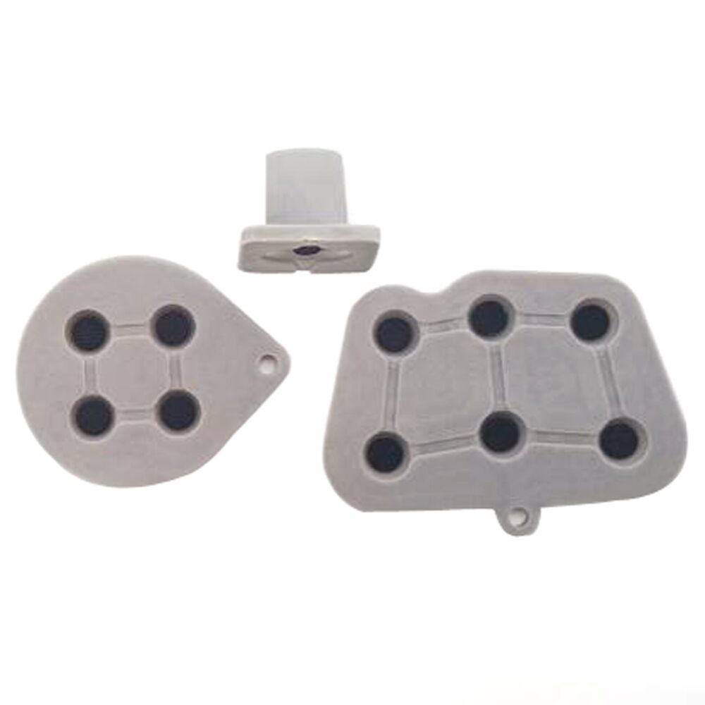 Repair Parts For Sega Saturn SS Controller  Conductive Rubber Pad Button Start Key Pads Button