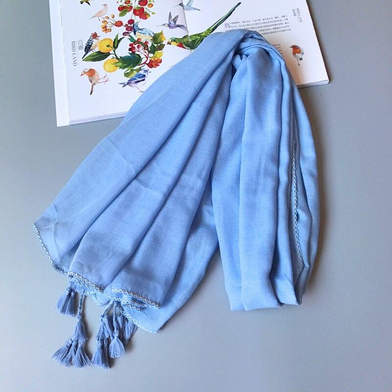 Women Scarf Solid Color Large Shawl New Design Stylish Side made Elegant Wrap [3012]
