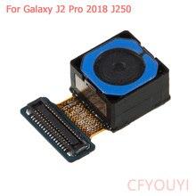 Большой задний модуль камеры Замена части для samsung Galaxy J2 Pro() J250