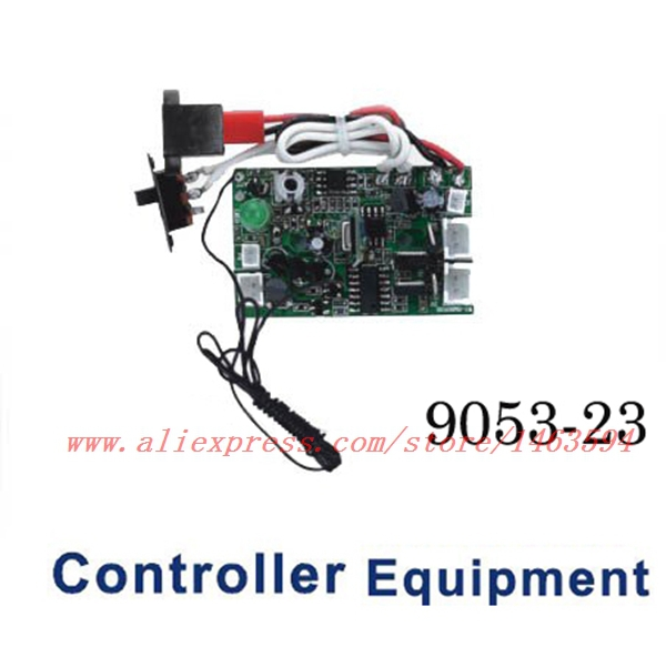 Double Horse 9053 DH9053 <font><b>RC</b></font> Helicopter Spare Parts PCB board Controller Equipment <font><b>Receiving</b></font> board <font><b>40MHZ</b></font>(40.680mhz image