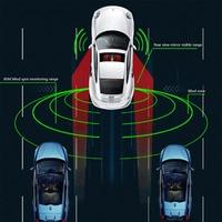Universal BSD Blind Spot Detection For All Car Models BSM Parallel Lane Change Steering Warning Rearview Mirror Radar
