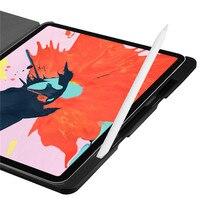 leather flip New Smart Case for iPad Pro 12.9 2018 Ipad Pro 12.9 Ultra-slim Intelligent Flip PU Leather Case For iPad Pro With Sleep/Wake up (3)