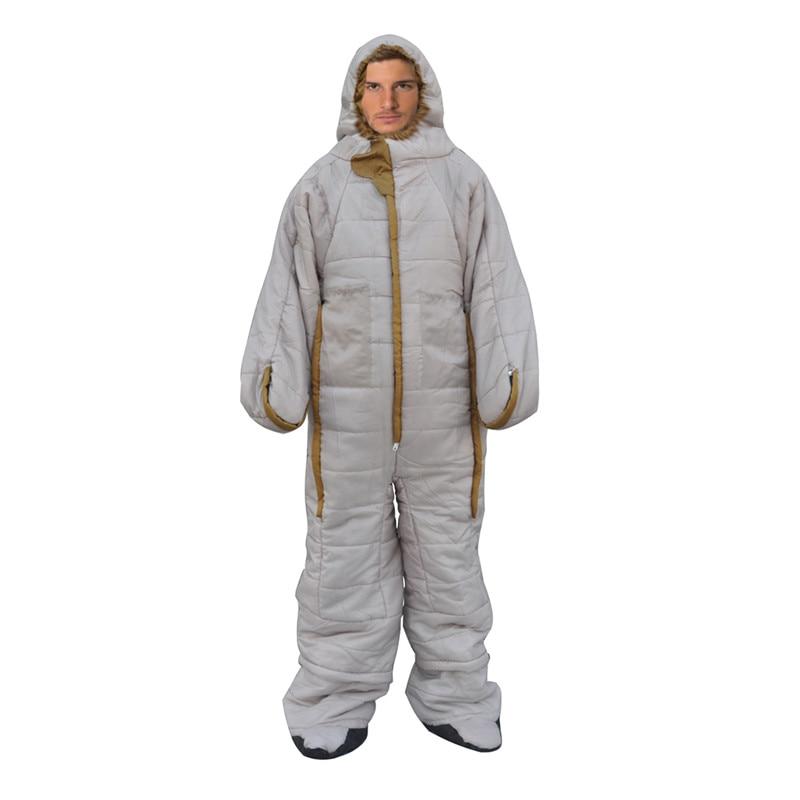 Wearable Sleeping Bags Camping Hiking Sleeping Bag With Legs 127