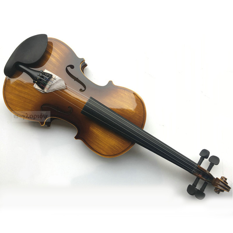 Bright rub color retro violin grading playing piano adult musical instrument wholesale violin introduction