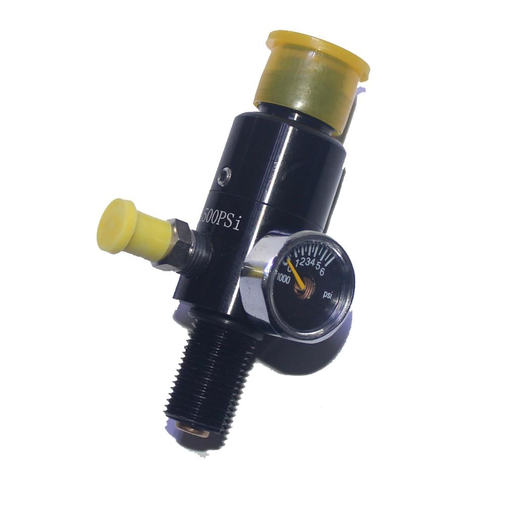 """Image 2 - Nouveau Paintball pistolet à Air comprimé Airsoft PCP fusil à Air comprimé HPA 4500psi régulateur de réservoir dair comprimé pression de sortie 5/8 """" 18UNFAccessoires de paintball   -"""