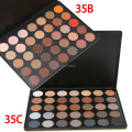 2016 New Fashion 35 Color Eyeshadow Palette Make up Pallete Earth Warm Color Shimmer Matte Beauty Makeup Set Smoky Eye-shadow