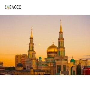 Image 3 - Laeacco Muslimischen Moschee landschaft Architektur Porträt Szene Fotografischen Hintergrund Vinyl Fotografie Foto Studio Hintergrund Wand