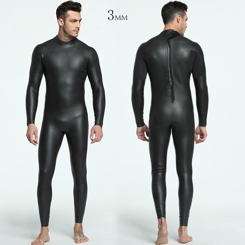 3MM Super élastique CR hommes costume de plongée sous-marine surf combinaison de plongée sous-marine maillots de bain lutter contre le froid rester au chaud pour l'extérieur