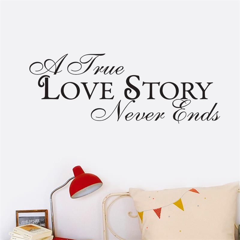 Adhesivos de pared decoración casera una verdadera historia de amor ...