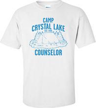 88e730ab10aa Camp Crystal Lake Counselor T-shirt Summer Style Fashion Men T Shirts Top  Tee Summer