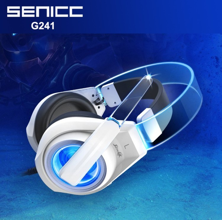 SENICC G241 3.5MM+USB Pro Stereo Gaming Headphones Bass Glowing LED Light PC Gamer Headband Headset with Microphone for Laptop.jpg