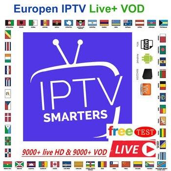 Prueba Usa Iptv revendedor Panel suscripción M3u