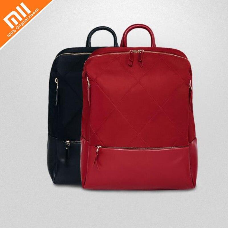 Xiaomi 90 points mode sac à bandoulière rhombique urbain sac étanche femmes filles shopping collège collège voyage sac à bandoulière