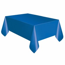 "New Rectangle  54"" X 108"" Table Cover Tablecloth Table 10 Colors Plastic Tablecover For Wedding Patry Event Decorations Favors"