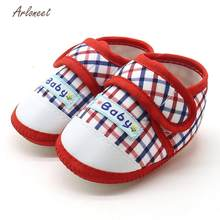 ARLONEET baby boy shoes fashion baby shoes Warm baby shoes first walker Soft Sole Prewalker Warm Casual Flats Shoes JA5(China)
