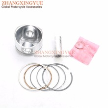 57 4mm Piston Piston Ring for GY6 150cc 157QMJ 4T Scooter