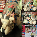 Горячая Японского Аниме Рис Dragon Ball Z СОН ГОКУ Bulma Фигурку С мотобайк Масштаб Куклы ПВХ Фигура