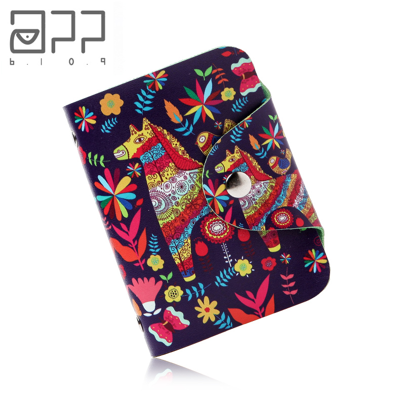 APP BLOG Women Zipper Credit ID Card Holder Case Wallet Bags Carteira Feminina Mujer 2019 image