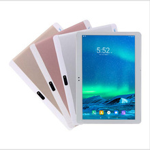 10.1 inch Tablet PC 3G Phone Call Dual SIM card Android 6.0 OTCore WiFi GPS Buetooth 32GB di Ram; 32GB Rom 10.1 Tablets PC
