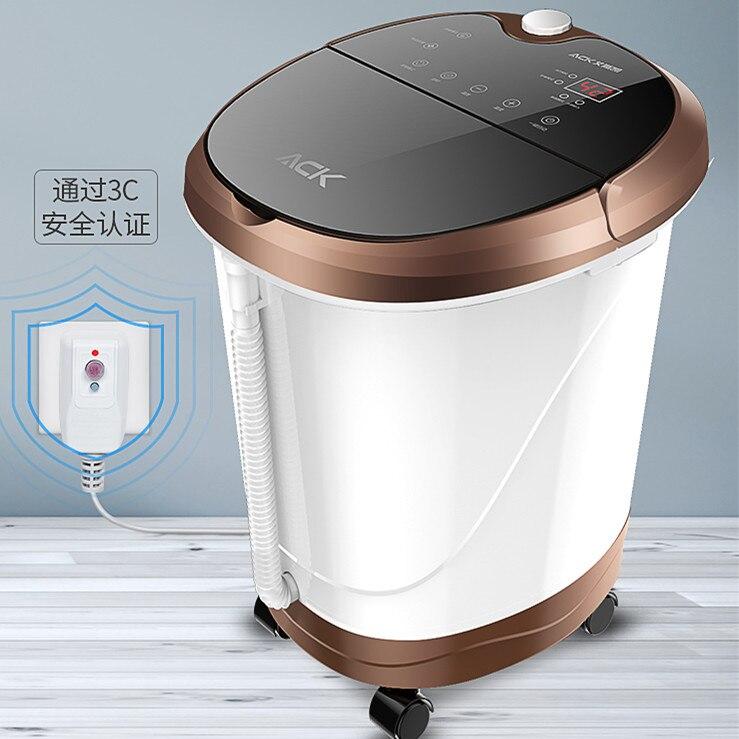 Sauna électrique entièrement automatique de Fumigation de baignoire de pied de chauffage sans bain de pied de massage de l'eau 2019 vu à la télévision