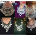 Vedawas Vintage Maxi Necklace Women Fashion Jewelry Various Style Metal Tassel Rhinestone Beads Choker Statement Necklace 2180