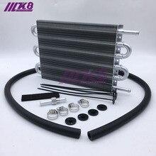 6 ряд Универсальный 304,8X190,5X19,05 алюминиевый пульт дистанционного управления масляный радиатор/автоматический ручной радиатор конвертер