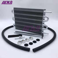 Refroidisseur d'huile de TRANSMISSION à distance universel en aluminium 304.8X190.5X19.05 6 rangées/convertisseur de radiateur AUTO-manuel