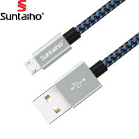 Mix Color Micro Usb Cable,Suntaiho Nylon Braided Metal Fast Charger & Data Cable For Samsung Galaxy / Xiaomi/ HUAWEI/ Meizu/ HTC