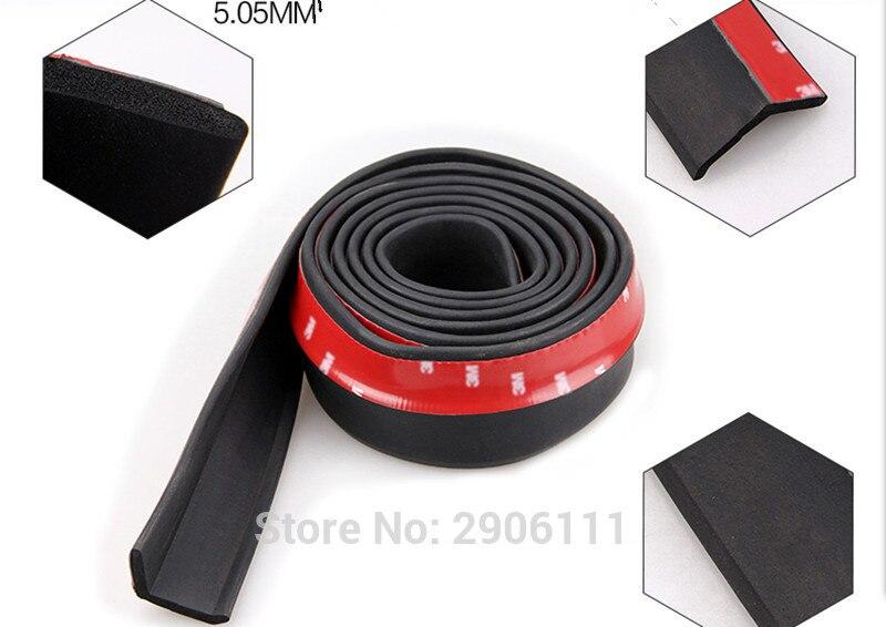Protecteur universel de jupe de lèvre d'autocollant de voiture de 2.5 M/8.2ft pour KIA sportage rio sorento cerato k2 k3 Soul K5 accessoires de voiture-style