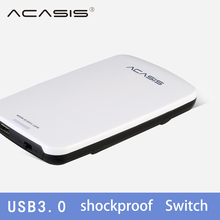 ACASIS 2.5 Inch USB3.0 External Hard Drive Disk Box HDD Enclosure Case With Cable SATA Interface Easy to Carry 5Gbps