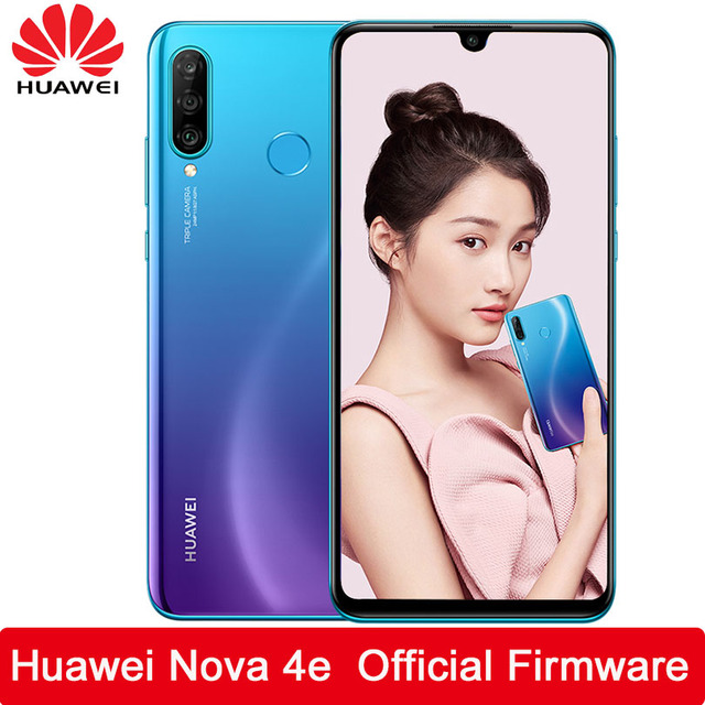 HUAWEI Nova 4e Smartphone Kirin 710 Octa Core Android 9.0 FingerPrint ID 3340 mAh 6.15 inch 4*Cameras AI Camera Cell Phone