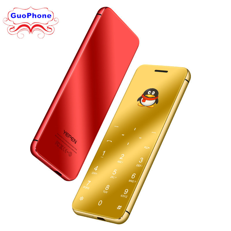ULCOOL V99 V66A 1.67 Phone Super Mini Ultrathin Card Luxury MP3 Bluetooth 2.0 Dialer Anti-lost Dual SIM Ultra Phone