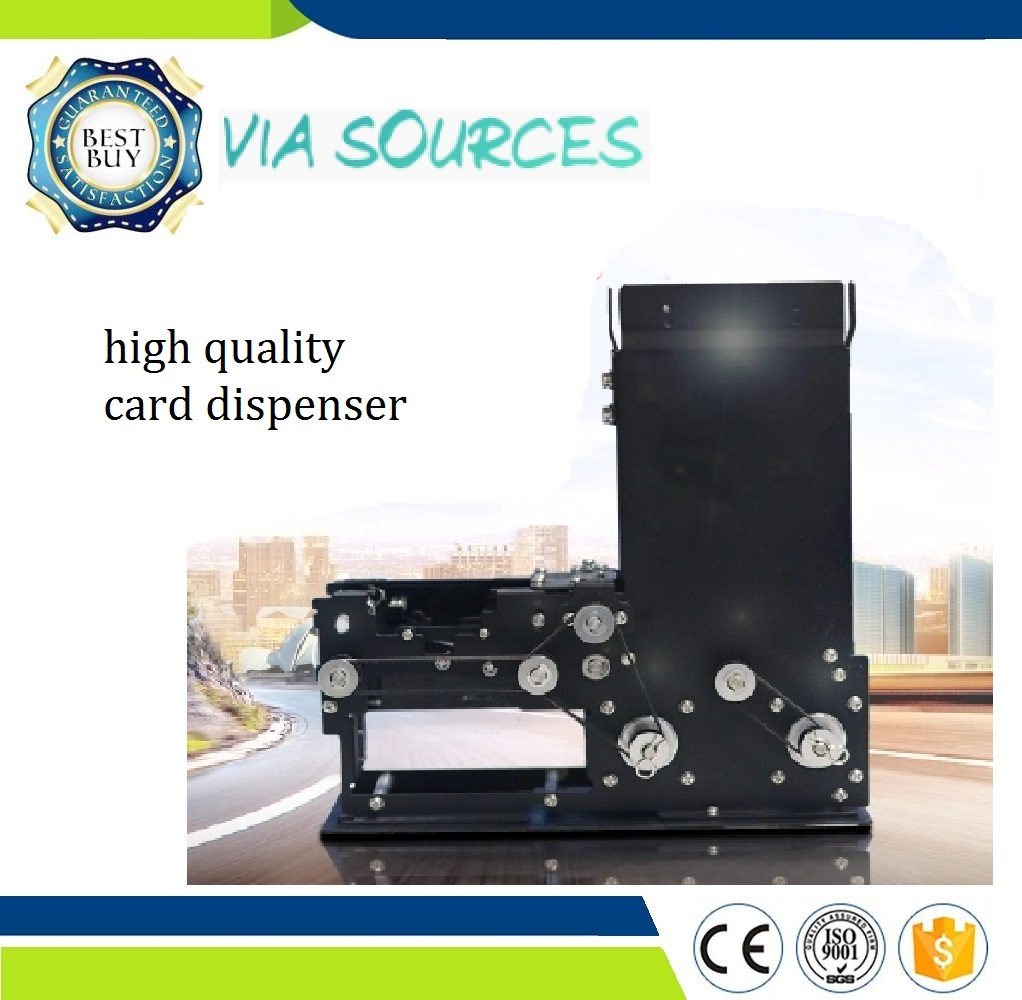 Direct Factory Interface High Way Card Dispensing System Parking System Auto Ticket Vending Machine IO Control