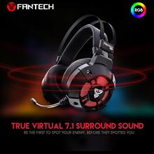 FANTECH HG11 Gaming Headsets Big Headphones with Light Mic Stereo Earphones Super Bass for Computer Gamer Laptop PS4 New X-BOX
