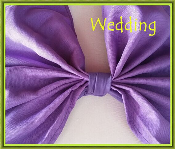 Brandudsalg !! Brandudsalg !! 100stk bryllup lilla stol dækning - Hjem tekstil - Foto 4