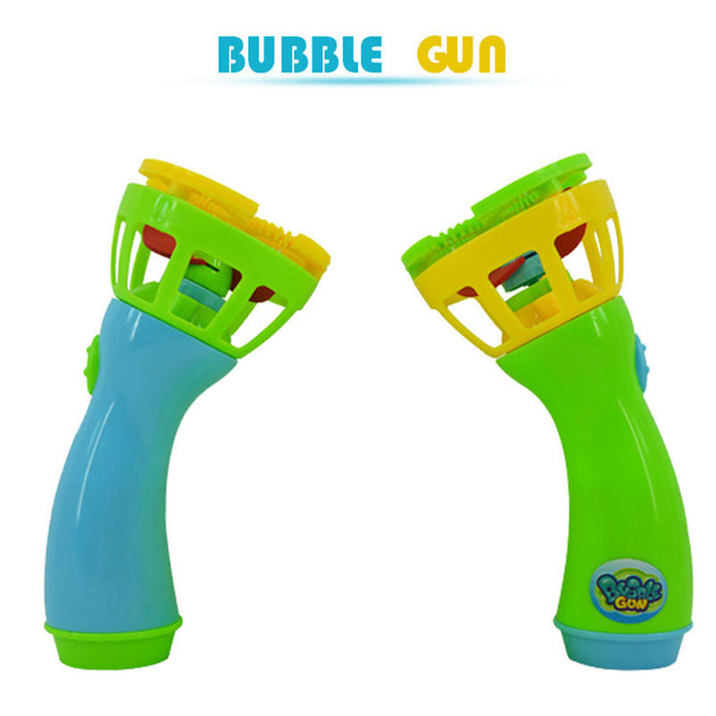1pc New Summer Funny Magic Bubble Blower Machine Bubble Maker Mini Fan Kids Outdoor Toys for girls boys children P3