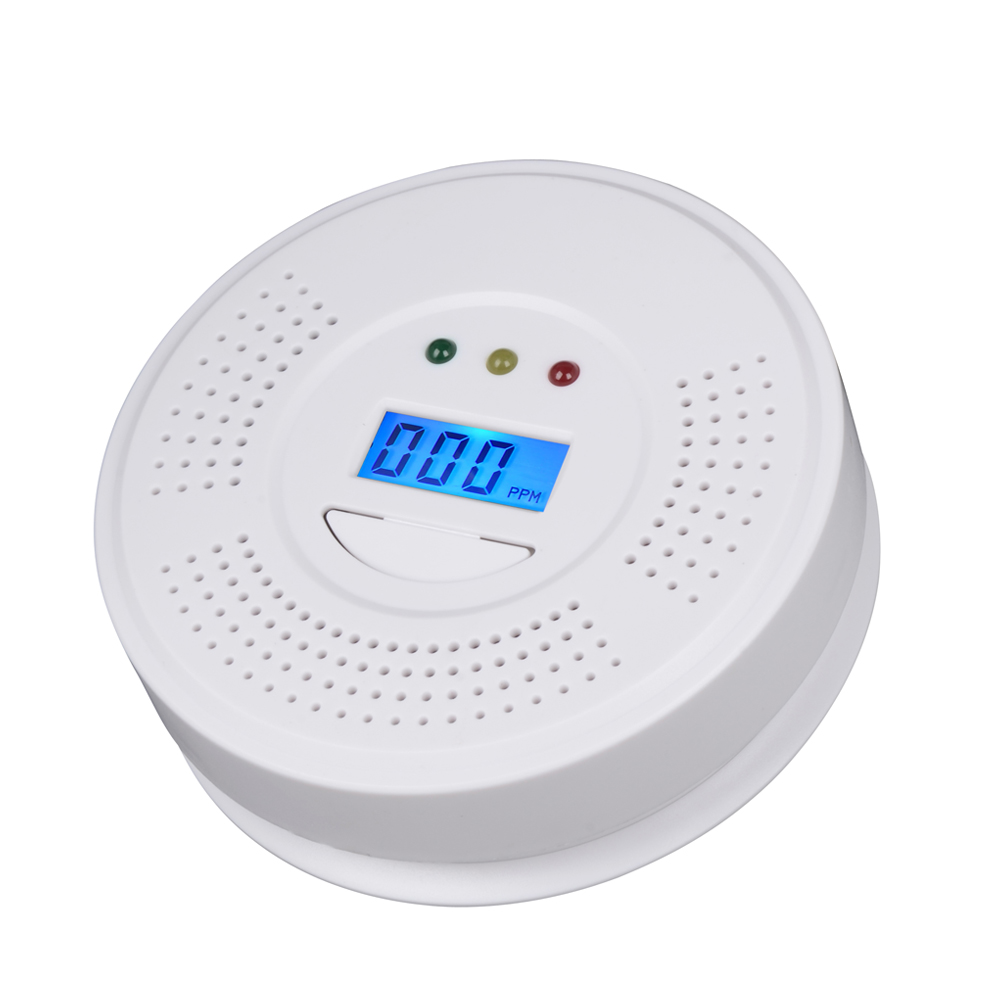 Wholesale 12PCS High Quality RH-105 CO Carbon Monoxide Poisoning Gas Sensor Warning Alarm LCD Detector Tester