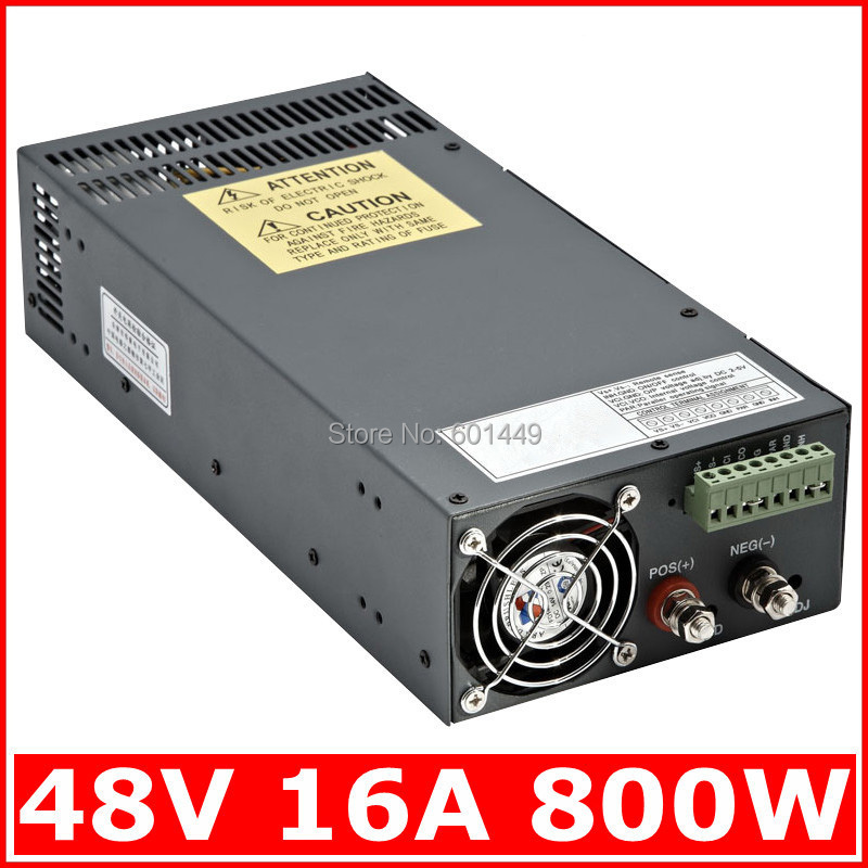 Electrical Equipment & Supplies> Power Supplies> Switching Power Supply> S single output series>SCN-800W-48V 48v 20a switching power supply scn 1000w 110 220vac scn single output input for cnc cctv led light scn 1000w 48v