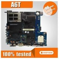 A6T Motherboard For ASUS ASUS A6TC A6U A6K A6KM A6V A6JC A6J Laptop motherboard A6T Mainboard A6T Motherboard test 100% OK
