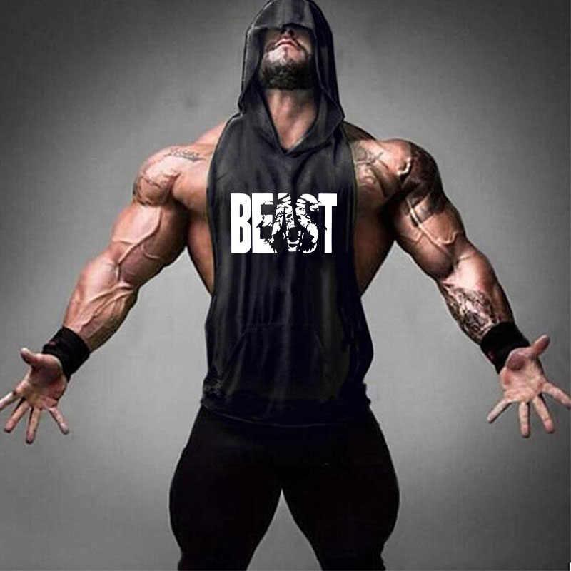 2019 เสื้อใหม่ผู้ชายการบีบอัด Vest ผู้ใหญ่ Gym Tank Top ฟิตเนสเสื้อกีฬาเสื้อผ้าเสื้อกั๊ก