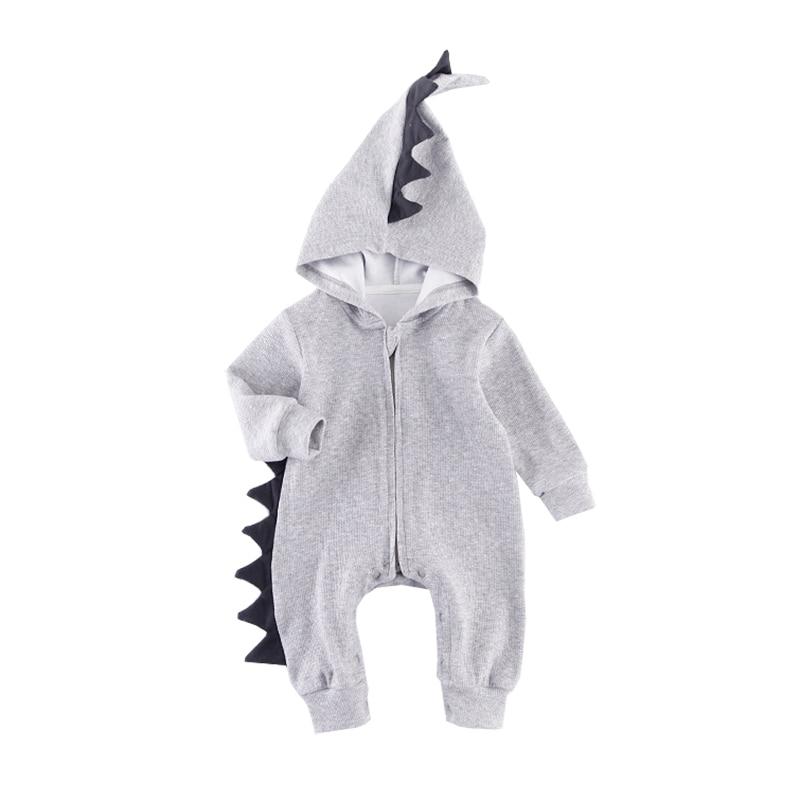 Infant Boy Costume Spring Autumn Zipper Romper Baby Bebe Menino Cotton Newborn Overalls Toddler Baby Clothes Kids Girls Clothing