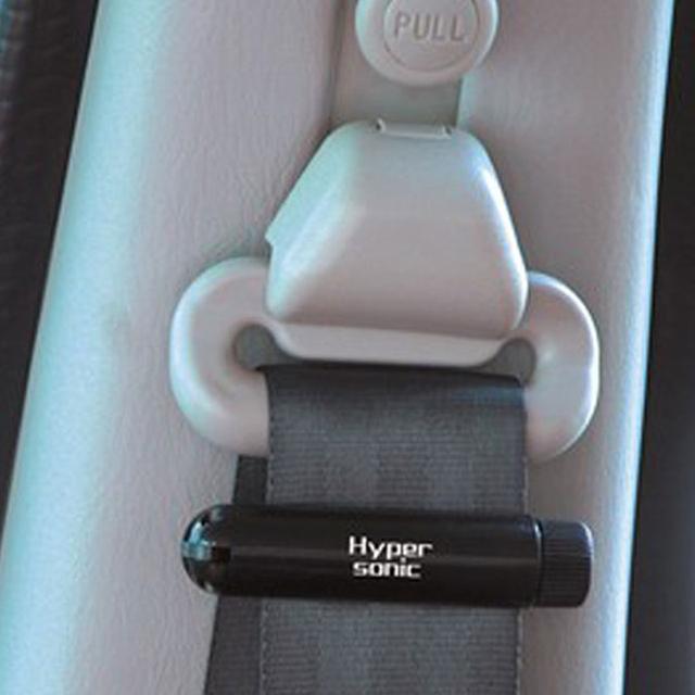 Hipersônico 2 pcs Garrafa de gás Nitrogênio-em forma de Clipes de Cinto de segurança Do Carro Ajuste Fivelas de Cinto Clipe Stopper Ajustável HP-2508