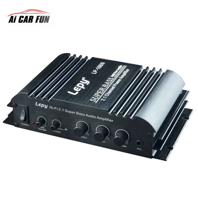 Lp 168s 2 1 Channel Car Subwoofer Sound Amplifier For Speakers 3 55