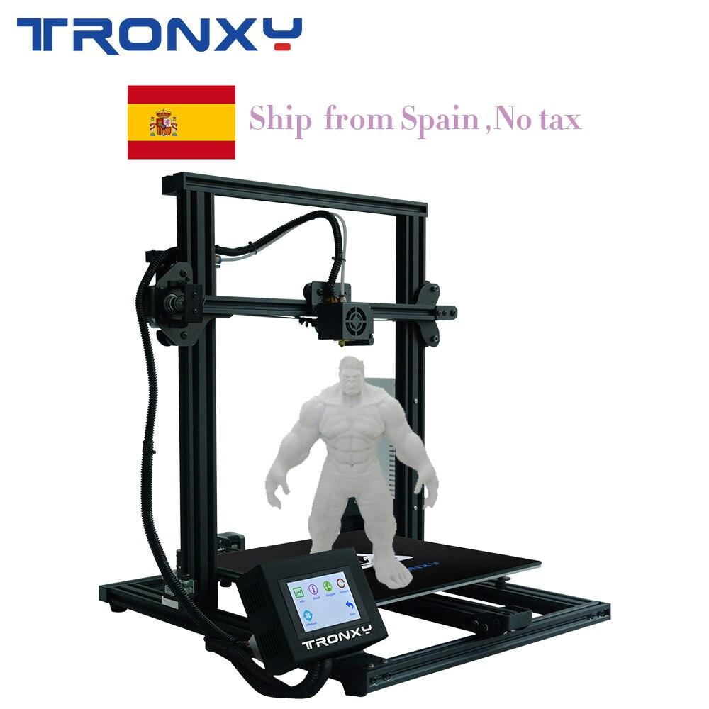 Tronxy XY-3 kit de bricolage imprimante 3D grande taille I3 mini imprimante à XY-3 3D Continuation impression puissance créalité 3D XY 3 0.25KG PLA cadeau