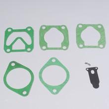 Бумага прокладка комплект для одного цилиндра компрессора и двойной цилиндр двухцилиндровый Двухцилиндровый компрессор 2 компл./лот