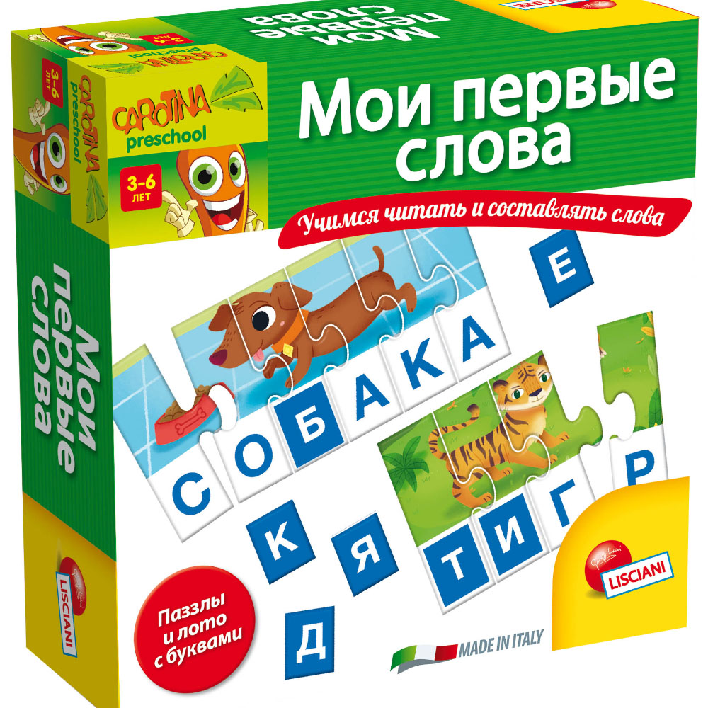 Card Books LISCIANI R55074 Educational Games Cards for children Gifts happy baby play for boys girls
