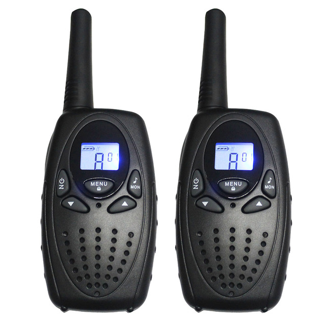 T628 1 Watt long range 2-channel monitor two way portable CB radio walkie talkie pair radios communicator PTT interphone