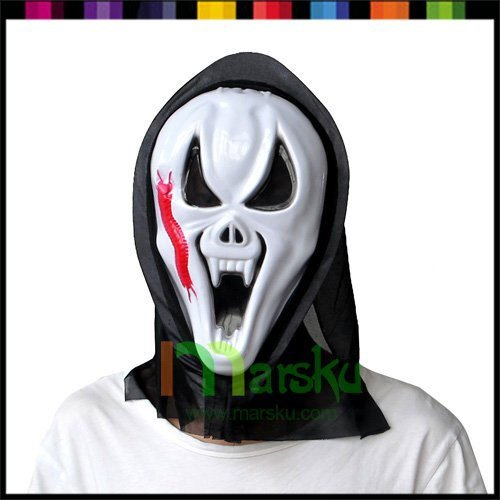 Halloween mask / ghost face mask / horror screaming skull / a face / mask Costume party supplies / free shipping #1933